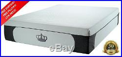 DYNASTY MATTRESS 14.5 Cal KING CoolBreeze Plush GEL Memory Foam withFREE 2 Pillow
