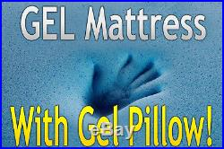 DYNASTY MATTRESS 14.5 FULL Gel High Quality Memory Foam-SOFT-FREE GEL A PILLOW