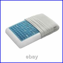 Deluxe Thick 5 ½-inch Height Pressure Relieving, Cooling Gel & Memory Foam Bed