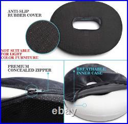 Donut Cushion Pillow Hemorrhoid Memory Foam Seat Coccyx Tailbone Pain Relief Pad