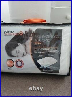 Dormeo Octaspring Double Mattress Topper & 2 Dormeo pillows