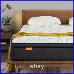 Double Mattress in a Box, 12 Inch Plush Pillow Top Gel Memory Foam