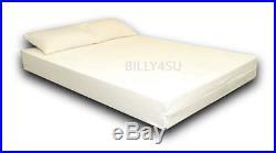 Double bed size Visco Elastic Memory Foam Mattress + Zip Cover + FREE PILLOWS