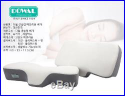 Dowal Good Sleep Cervical Support C-Curve Neck Traction Memory Foam Bed Pillow