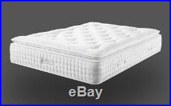 Dream Beds 4ft6 3000 Pocket Spring Pillow Top Quality Mattress With Memory Foam