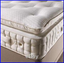 Duke 10000 Pocket Sprung Side Stitched Pillow Top Mattress With Memory Foam