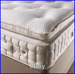 Duke 20000 Pocket Sprung Side Stitched Pillow Top Mattress With Memory Foam