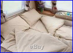 Duvalay Memory Foam Sleeping Bag (single)DUV101 Cappuccino Next Day delivery