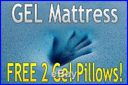 Dynasty 14 King Cool Breeze GEL Memory Foam Mattress-FREE 2 Pillows-Medium Firm