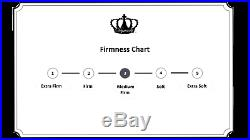 Dynasty Mattress 12 KING CoolBreeze GEL Memory Foam Mattress FREE 2 Gel Pillows