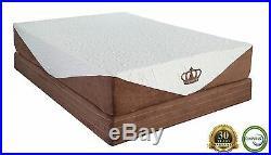 Dynasty Mattress Cool Breeze 10 GEL Memory Foam-TWIN with FREE 1 GEL Pillow