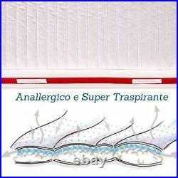 EVERGREENWEB Materasso Singolo 120x190 Antiacaro + Cuscino GRATIS