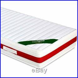 EVERGREENWEB Materasso in Memory Foam Massaggiante alto 22 cm + Cuscini GRATIS