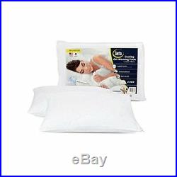 Extra Firm Gel Memory Foam Bed Pillows Set 2 Pack Standard Size Neck Support New