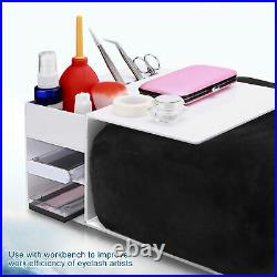 Eyelash Extension Shelf Stand + Memory Foam Pillow Makeup Eyelash Extension SET