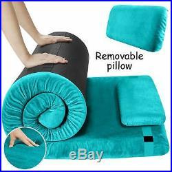 FBSPORT Memory Foam Floor Mattress with Pillow Camping Mattress/Car Travel Mat/R