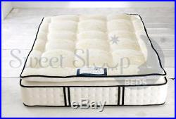 Firm Hard Orthopaedic Memory Foam Pillow Top Mattress Single Double King