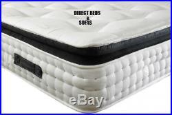 Firm Hard Orthopedic Memory Foam Pillow Top Mattress Single Double King