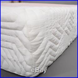 GEL MEMORY FOAM MATTRESS 10'' Twin Size Medium Firm 2 Pillows with Mattress Cover