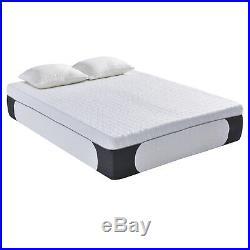 Gel Memory Foam Cool Mattress 14 Inch with Pillow Bedroom Sleeper Comfort Indoor