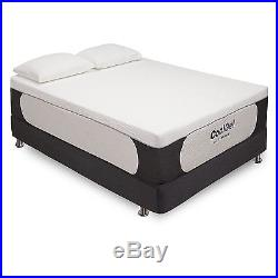 Gel Memory Foam Mattress Postureloft 14 Inch Queen Size Plush With 2 Pillows