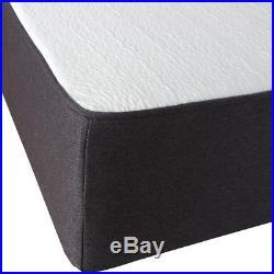 Gel Memory Foam Mattress Queen Cool Ventilated 10.5-Inch With Bonus Pillow New