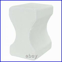 HEBDEN Memory Foam Orthopaedic Leg Pillow Back Hips & Knee Support Cushion