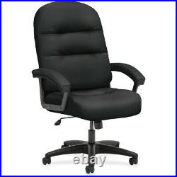 HON Pillow-Soft High-Back Chair Fabric Black, Plush, Memory Foam Seat Fiber