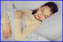 Heat & Moisture Reducing Ice Silk/Gel Infused Memory Foam Pillow King, 6 Pack