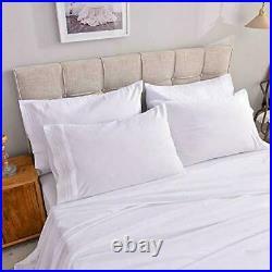 Heat & Moisture Reducing Ice Silk/Gel Infused Memory Foam Pillow King 6 Pack