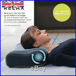 HoMedics Zen Meditation Pillow Memory Foam Neck Support Pillow, Aroma