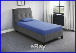 Homelegance 7'' Full Size Gel-Infused Memory Foam Blue Mattress With Pillow