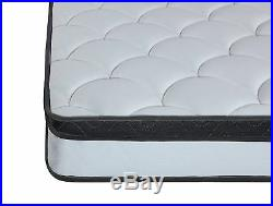 Hybrid Innerspring and Memory Foam Pillow Top Queen Comfortable Bed Mattress