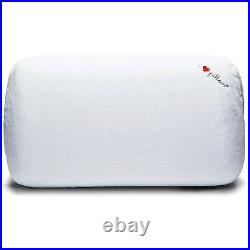 I Love Pillow Traditional Comfort Medium Profile Memory Foam Pillow, King (2 Pk)
