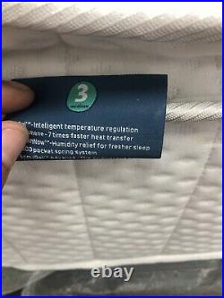 Igel Advance 2500 Pillow Top King Size Mattress In White Medium 3 Rrp £1099.99