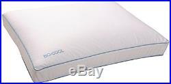 Iso-Cool Memory Foam Pillow, Gusseted Side Sleeper, Standard