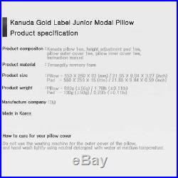 KANUDA Gold Label Junior Memory Form Pillow