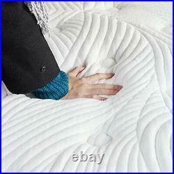 King Mattress in a Box, 12 Inch Plush Pillow Top Gel Memory Foam