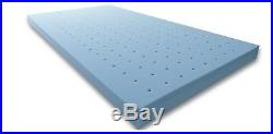 King Memory Foam Mattress Topper 4 Gel Pad Bed Ventilated Cushion Pillow Top