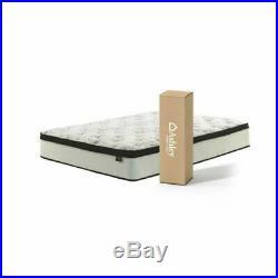 King Size 12 Inch Luxury Hybrid Mattress Ultra Plush Gel Memory Foam Pillow Top