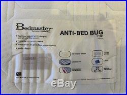 King Size 1500 Pocket Sprung Mattress Memory Foam / Pillow Top Minimal Use