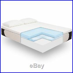 King Size Cool Gel Ultimate Gel Memory Foam 14-Inc Mattress with BONUS 2 Pillows