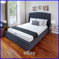 King Size Soft Spring Mattress Pillow Top Plush Sleep Customized Fit Body Full