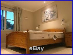King size, pillow-topped, pocket-sprung, memory foam mattress- £600 ONO