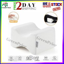 Knee Pillows for Side Sleepers Orthopedic Memory Foam Leg Elevation Pregnancy