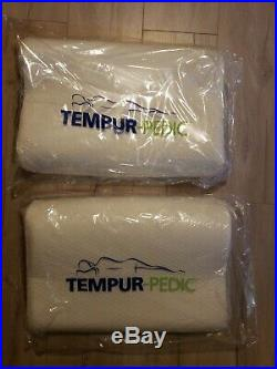 LOT OF TWO Tempur-Pedic Small Contour Pillow NEW in Pkg