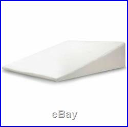 Large Wedge Pillow Memory Foam Back Support Pillow Acid Reflux Raised Bed Pillow