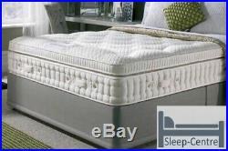 Latex Memory Foam 3000 Pocket Pillow Top Mattress In All Sizes