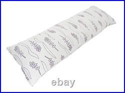Lavender Luxury. Shredded Memory Foam Body Pillow for Sleeping with Memory Foam
