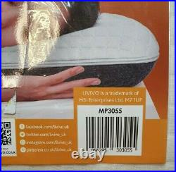Livivo Memory Foam Core Orthopaedic Support Firm Bed Pillow Anti-Bacterial